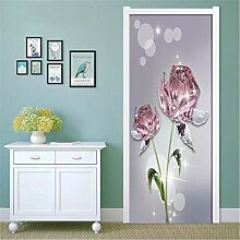 YPXXPY Tür Wandaufkleber 3D Tür Aufkleber
