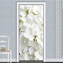 YPXXPY Tür Wandaufkleber 3D Tür Aufkleber Klee