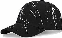 YQ QY Sommer Baseballmütze Entenzunge Hut Sonnenschutz Hut Mode Lässig (Farbe : Schwarz)