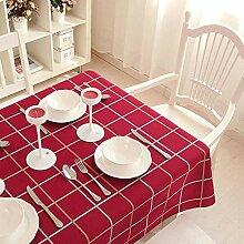 YQ QY Tischdecke Tischdecke Baumwolle Und Leinen