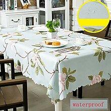 YQ QY Tischdecke Zuhause Dekoration Polyester