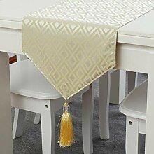 YQ QY Tischfahne Streifen Polyester Baumwolle