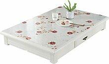 YQCSLS PVC Tischdecke Wohnzimmer Tischdecke