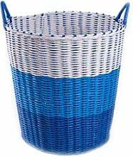 YQDSY Aufbewahrungskorb- Plastikhamper Wäschekorb