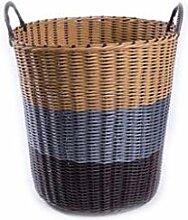 YQHLHT Aufbewahrungskorb- Plastikhamper
