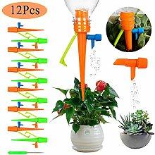YQing 12 Stück Automatisch Bewässerung Set,