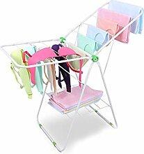 YQQ Baby Wäscheständer Klappbarer Kleiderbügel