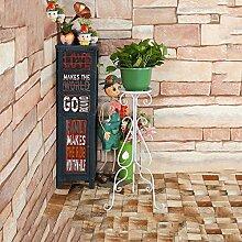 YQQ Bodenständer Garten Blumenständer Klappregal