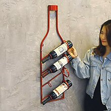 YQQ Flasche geformt hängende Weinflaschenhalter