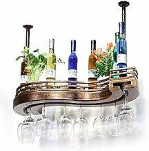 YQQ-Weinregal, Weinflaschenregal Weinglasgestell