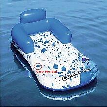 Yqs Draussen Float Bed Aufblasbare Pool Schwimmer