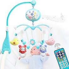 YQZ Baby Mobile für Kinderbetten mit Musical,