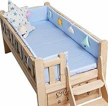 YQZ Bettumrandung Kinderbett, 100% Baumwolle