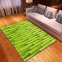 YQZS Designer Teppich Moderner Teppich Grüner