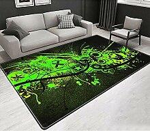 YQZS Moderner Teppich Wohnzimmer Teppich Frisches