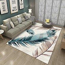 YQZS Wohnzimmer Teppich Kurzflor Teppich