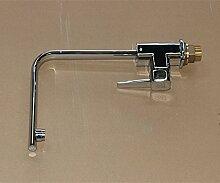 YROAR Moderne Küche Armaturen Armaturen Waschbecken Mixer schwenkbarer Auslauf Hähnen warmes und kaltes Wasser