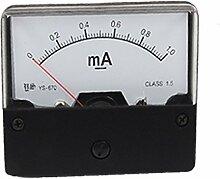 YS - 670 Panel montiert DC 0-1mA laufenden Meter Amperemeter Mess-Werkzeug