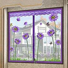 YSA Fenstergitter Vorhang, reißverschluss Fenster