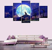 Ysain Moderne Leinwand Malerei Wohnzimmer Wand 5