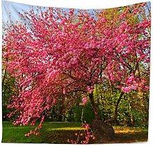 Ysayc Blume Pflanze Tapisserie 3D Drucken