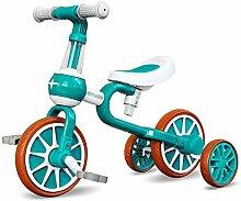 YSCYLY Lauflernhilfe FüR Kinder,2 In 1 Scooter