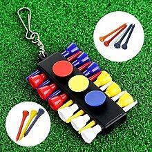 YSHTAN Golf Tees + Ball Markers Ball Sporting