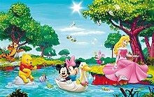 YSJHPC Fototapete Dekor Cartoon Kinderzimmer Maus