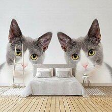YSJHPC Fototapete Dekor Einfache Katzenhandlung