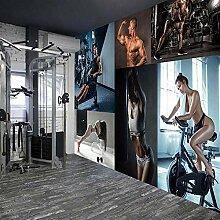 YSJHPC Fototapete Dekor Fitness Fitness