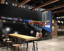 YSJHPC Fototapete Dekor Sportbasketball Wallpaper