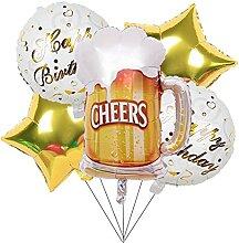 YSJJEFB Luftballons 1Set Happy Birthday Balloon