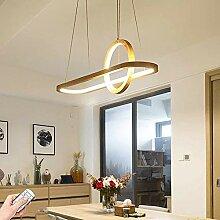 YSNJG Holz LED Pendelleuchte Esstisch mit