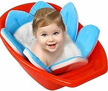 Ysoom Blume Badewannenmatte Baby, Neugeborene