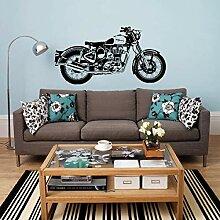 YSQLLA Motorrad Wandkunst Aufkleber Klassische