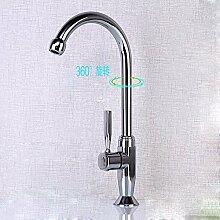 YSRBath Moderne Küche Waschbecken Monoblock