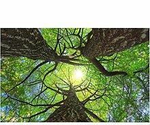 Yssyss Baumwandhimmel-Bildtapete Der Malerei 3D