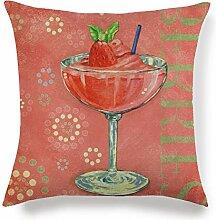 YTAPIZ Sommer Obst Becher Trinken Muster