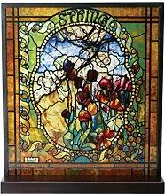 ytc Tiffany Spring gebeizt Glas