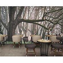 Ytdzsw 3D Baum Wandbild Fototapete Für Wohnzimmer