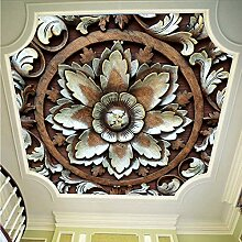 Ytdzsw 3D Decke Wandbilder Tapete Für Wohnzimmer