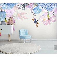 Ytdzsw 3D Fototapete Blumen Wandbild Für