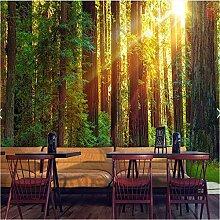 Ytdzsw 3D Fototapete Fototapete Natur Grüner Baum