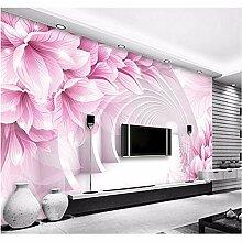 Ytdzsw 3D Moderne Blume 3D Wandbild Tapete Für