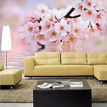 Ytdzsw 3D Wandbild Pfirsich Blume Wandbilder