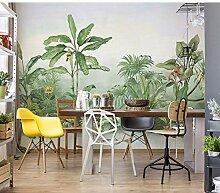 Ytdzsw Bananenblatt Baum Wandbilder Tapete Für