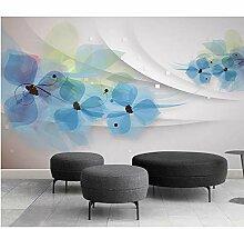 Ytdzsw Benutzerdefinierte Tapete Relief 3D Blumen