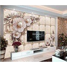 Ytdzsw Europäische Luxus -Tapete Dekoration