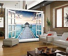 Ytdzsw Natur-Landschaft-Fensterrahmen 3D