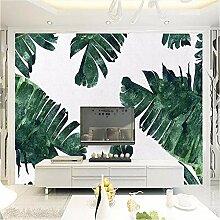 Ytdzsw Tapeten Blätter Wandbild Bananen Baum